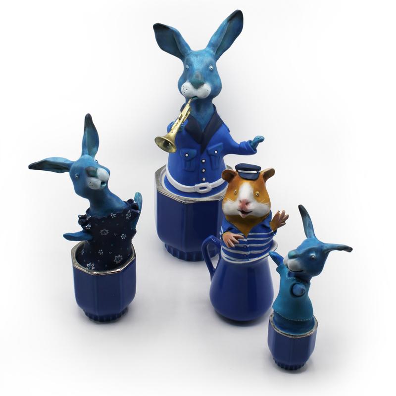 cie des lapins bleus Milie 2020 bd